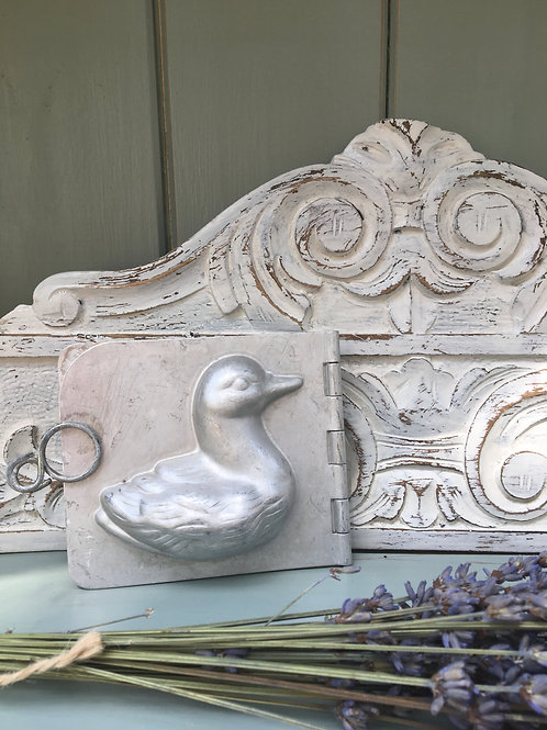 Vintage Chocolate Duck Mould