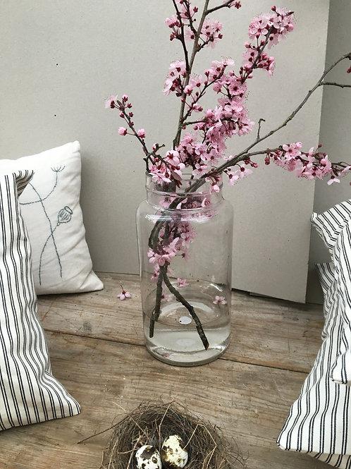 Vintage Preserving Jar Vase