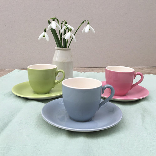 Trio of Coffee Cups