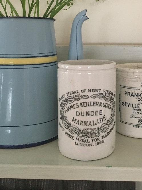 Vintage Frank Keiller Marmalade Jar