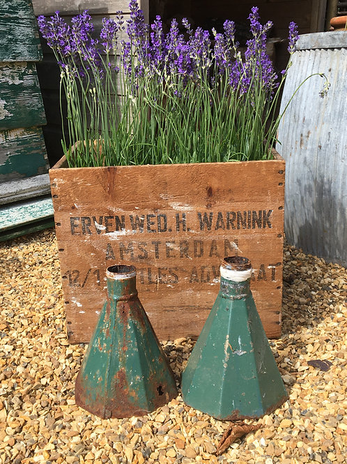 Vintage French Rainwater Hoppers (Pair)
