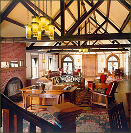 Roycroft Inn Lounge.  Source: roycroftinn.com