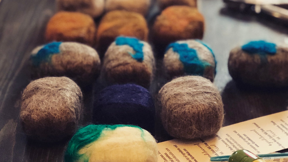 Felted Soap - Org. Alpine Made Goat's Milk