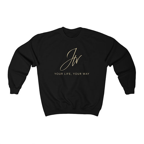 Janette's TV - Your Life, Your Way - Unisex Heavy Blend™ Crewneck Sweatshirt