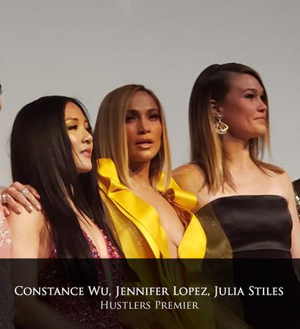 Constance Wu, Jennifer Lopez, Julia Stil