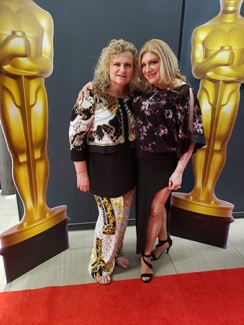 At The Waterfront Awards 2019 with Randi