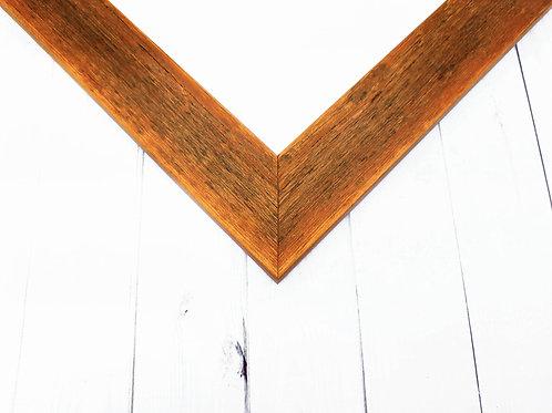 Orange Rustic Picture Frame