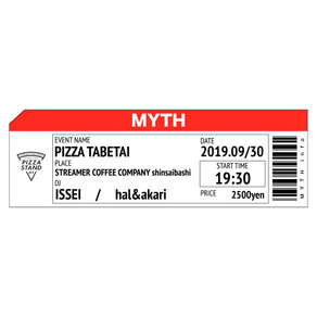 【News】 MYTH -PIZZA TABETAI- New design launch event