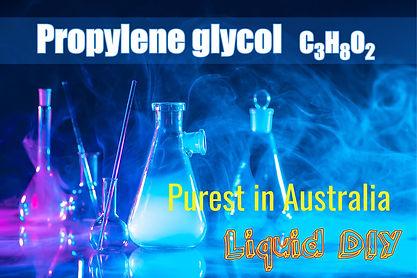 The purest Propylene Glycol PG in Australia