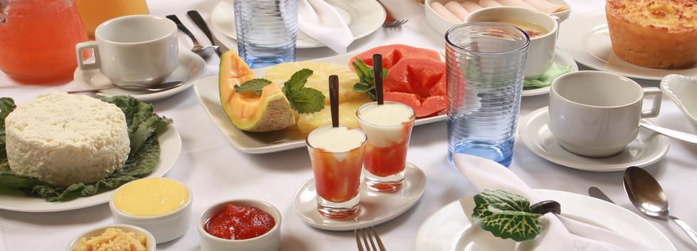 Café da Manhã do Hotel