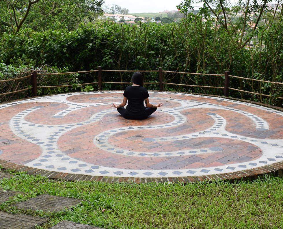 Meditação no Labirinto