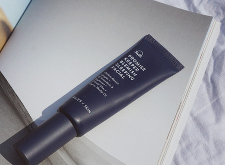 Review: Allies Of Skin Promise Keeper Blemish Sleeping Facial