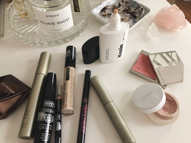green beauty everyday makeup products