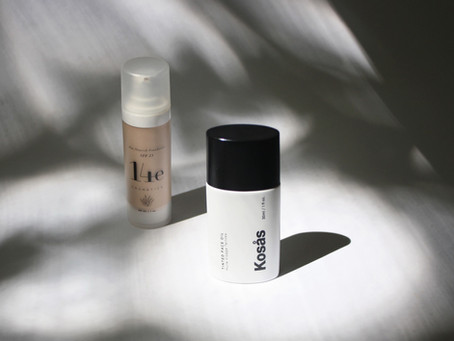 Kosas and 14e Cosmetics Foundation Review