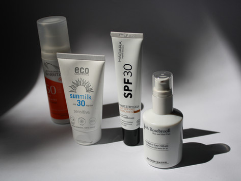 My Favorite Organic and Mineral Sunscreens