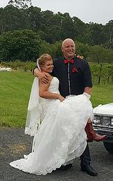 wedding at Camberwarra winery