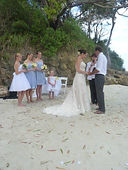 Wedding Greenfields Beach