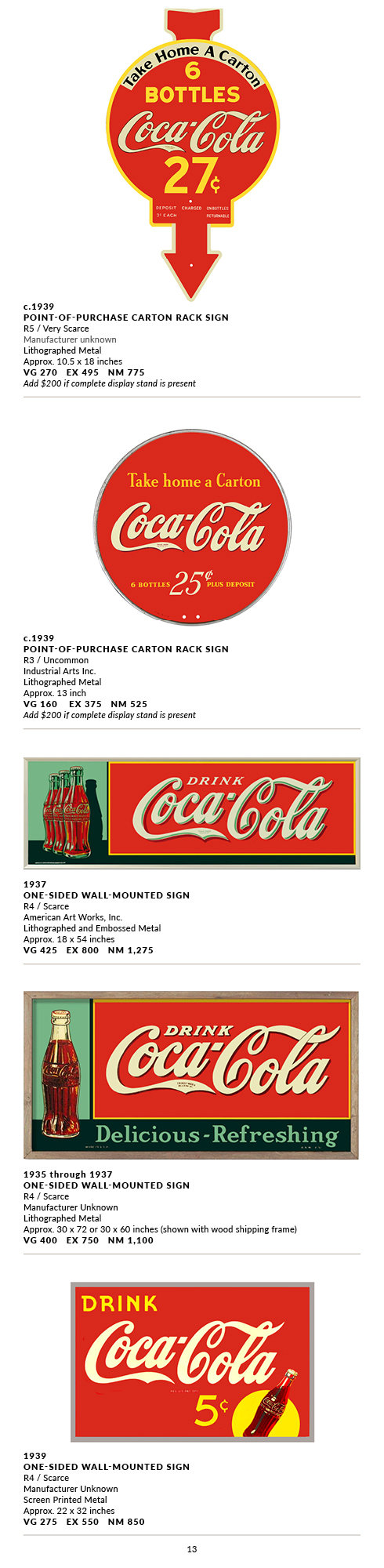 Metal Outdoor Signs 1930-1939(1921)13.jp