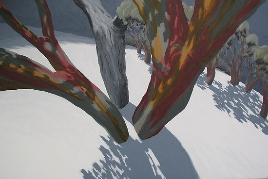 Artwork by Phil Henshall titled Near the Summit