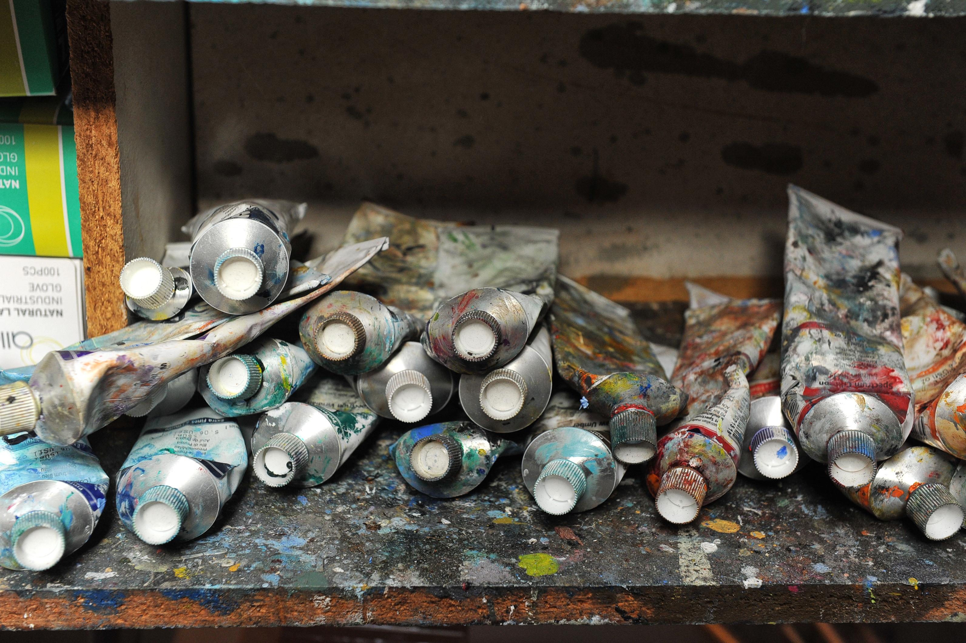 Phil Henshall Artist's Studio