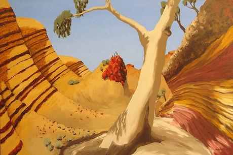 Artwork by Phil Henshall titled Arkaroola Aspect