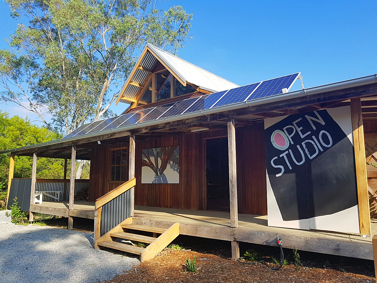 Artist's Studio located in Gippsland