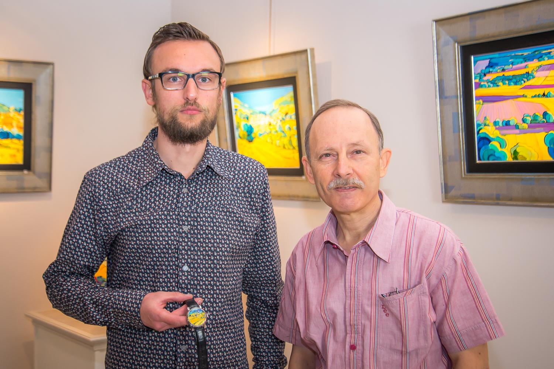 with Léon Zanella
