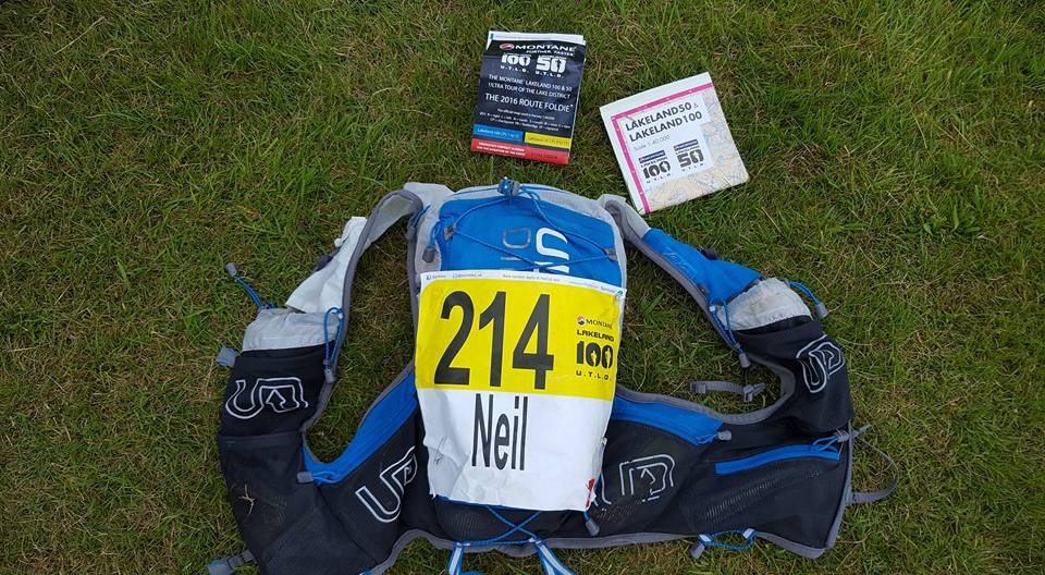 AK Vest ideally suited for my Lakeland 100 this year