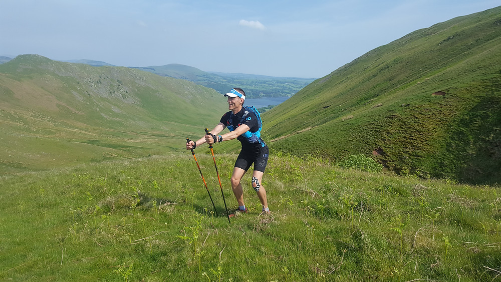 Random pic of me double poling in the lakes!