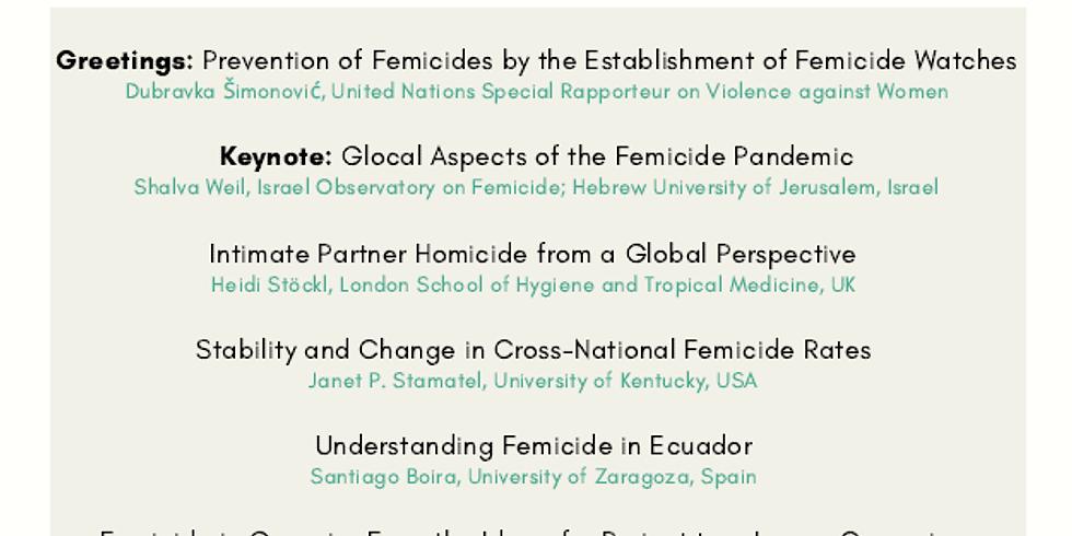 רצח נשים: המגפה העולמית הנשכחת - כנס לכבוד יום האישה הבינלאומי