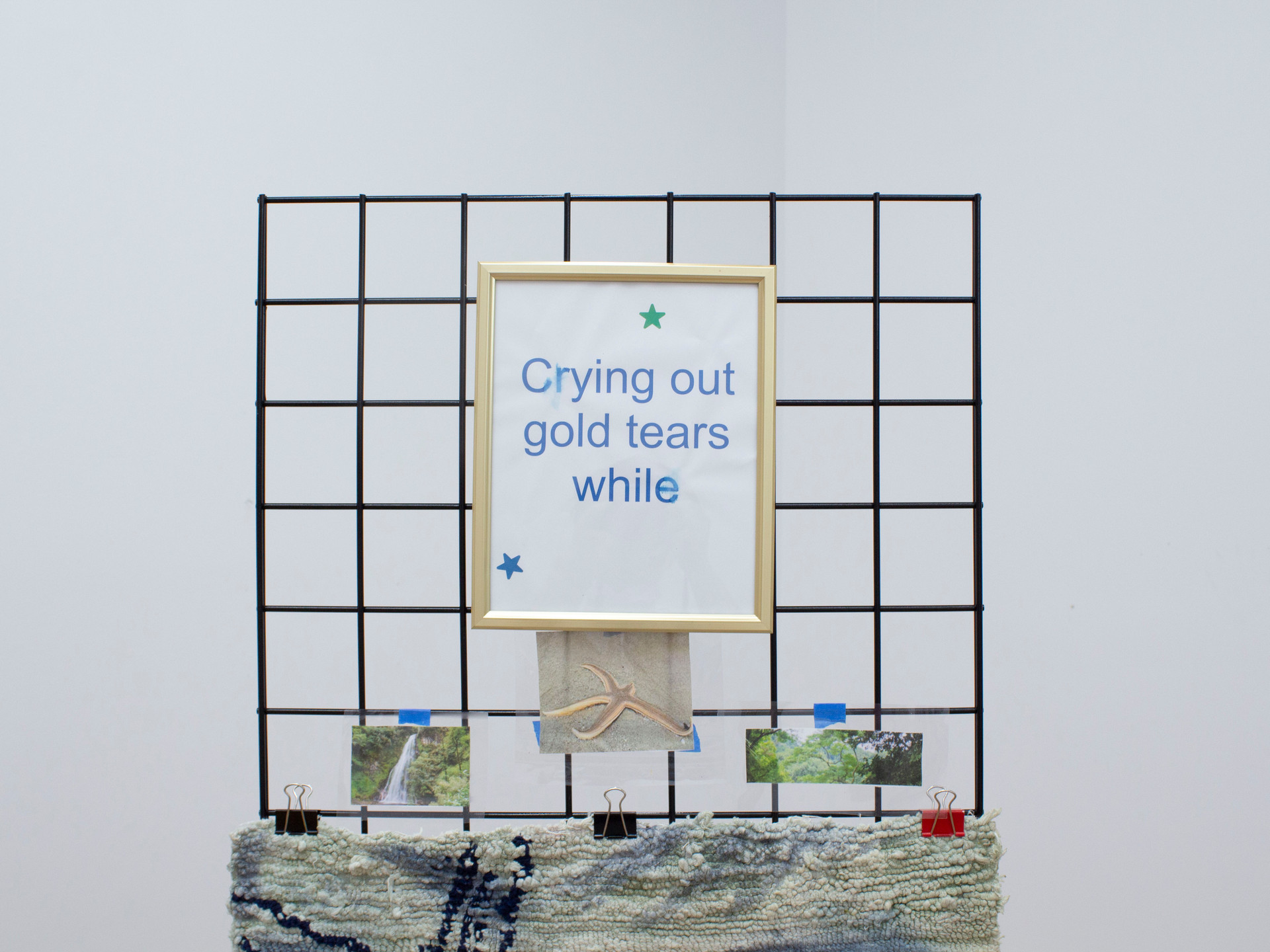 crying out gold tears while imagining what could've been
