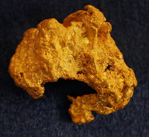 Large Gold Nugget 10.71 Grams