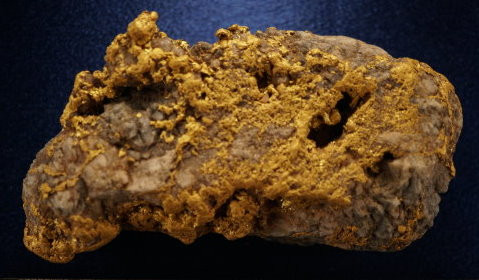 Nearly two pound specimen with approx. one and a third ounces of GOLD!