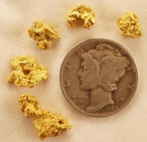 Gold Nuggets at goldnuggetman.com