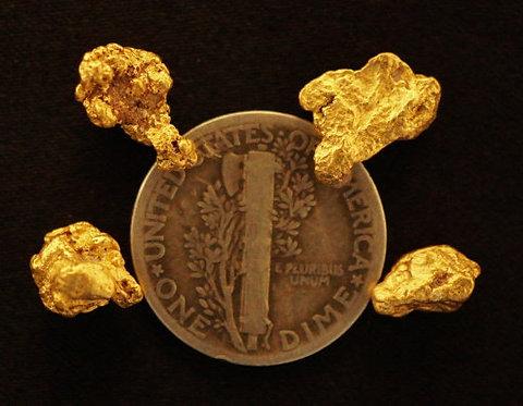 Real Gold Nuggets at goldnuggetman.com