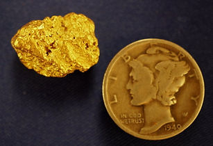 Medium Gold Nugget gnm109