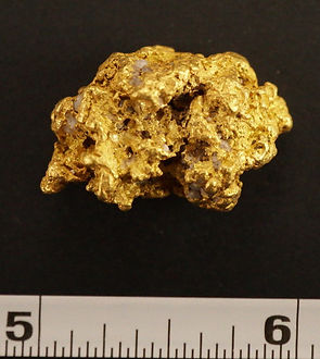 Real Nevada Gold Nugget gnm106
