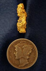 Medium Gold Nugget gnm224