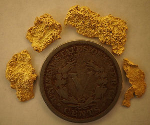 Real Gold Nuggets gnmcol133