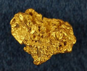 Medium Gold Nugget gnm154