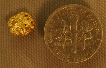 Genuine Gold Nugget gnm144