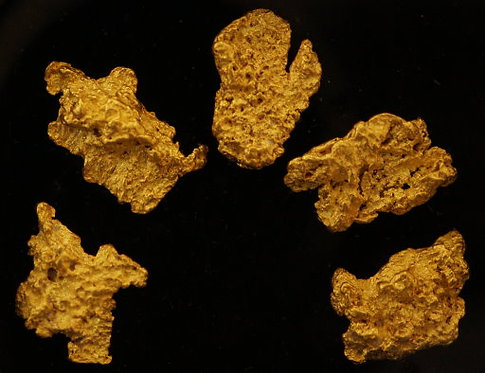 Fabulous Five Gold Nugget Collection at goldnuggetman.com