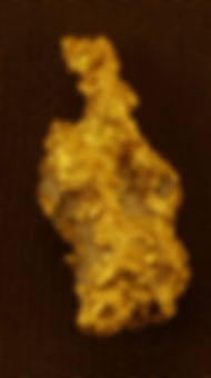 Small Gold Nugget gnm183