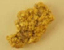 Medium Gold Nugget gnm182