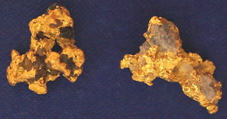 Natural Gold and Quartz Specimen gnmda511