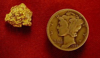 Real Gold Nugget gnm160