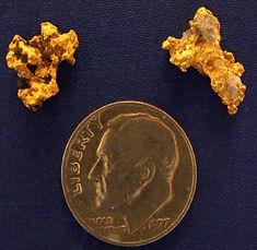 Real Gold and Quartz Specimens gnmda511