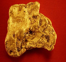 Natural Gold Nugget gnm173