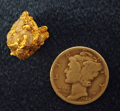 Dark Ages Gold and Quartz Specimen gnmda506