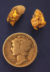 Genuine Gold and Quartz Specimens gnmda513